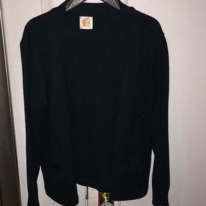 Jackets & Blazers - A dark green cardigan